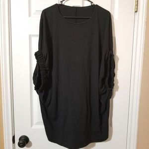 Zara W/B Collection Oversized Top